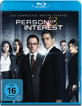Person of Interest: Staffel 3 Box Blu-ray (4 Discs)