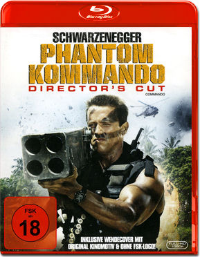 Phantom Kommando - Director's Cut Blu-ray