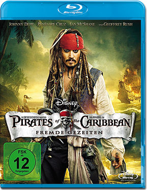 Pirates of the Caribbean 4: Fremde Gezeiten Blu-ray