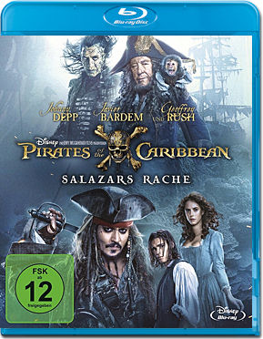 Pirates of the Caribbean 5: Salazars Rache Blu-ray