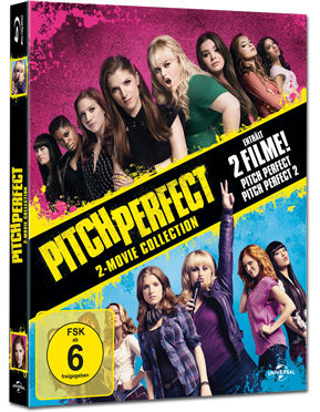Pitch Perfect 1+2 Blu-ray (2 Discs)
