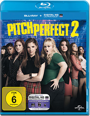 Pitch Perfect 2 Blu-ray