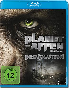 Planet der Affen: Prevolution Blu-ray