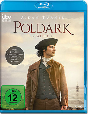Poldark: Staffel 2 Box Blu-ray (3 Discs)