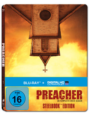 Preacher: Staffel 1 Box - Steelbook Edition Blu-ray (4 Discs)