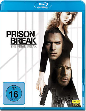 Prison Break: The Final Break Blu-ray