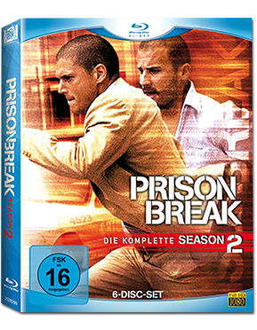Prison Break: Staffel 2 Box Blu-ray (6 Discs)