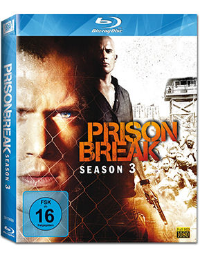 Prison Break: Staffel 3 Blu-ray (4 Discs)
