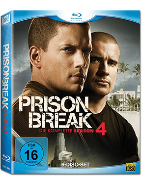 Prison Break: Die komplette Season 4 Blu-ray (6 Discs)