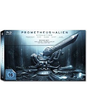 Prometheus to Alien: The Evolution Box - Limited Edition Blu