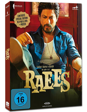 Raees - Limited Edition Blu-ray (2 Discs)