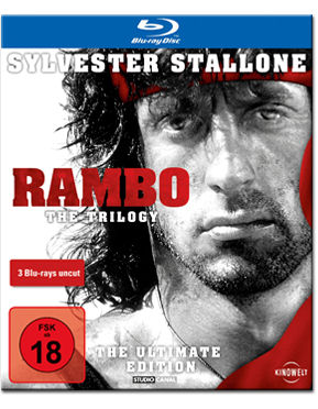 Rambo Trilogy - The Ultimate Edition Blu-ray (3 Discs)
