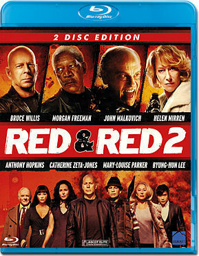 RED + RED 2 Blu-ray (2 Discs)