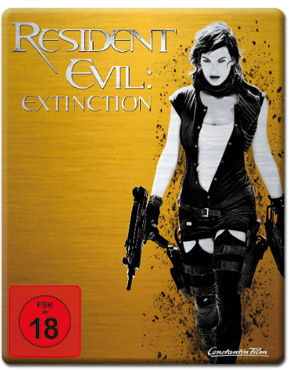 Resident Evil 3: Extinction - Steelbook Edition Blu-ray