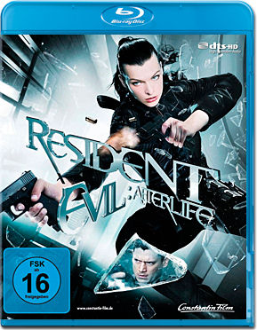 Resident Evil 4: Afterlife Blu-ray