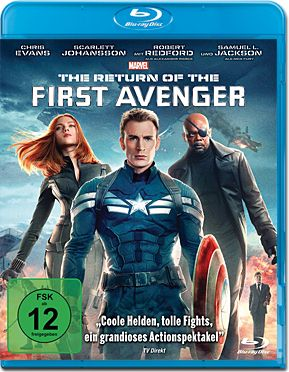 The Return of the First Avenger Blu-ray
