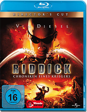 Riddick: Chroniken eines Kriegers - Director's Cut Blu-ray