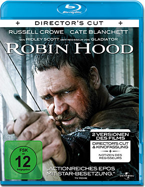 Robin Hood - Director's Cut Blu-ray