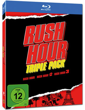 Rush Hour - Triple Pack Blu-ray (3 Discs)