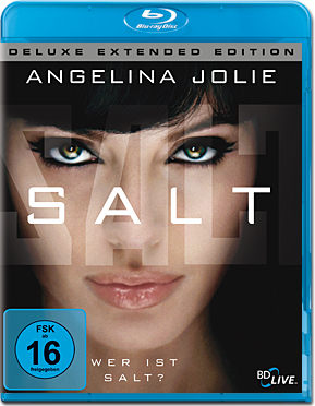 Salt - Deluxe Extended Edition Blu-ray