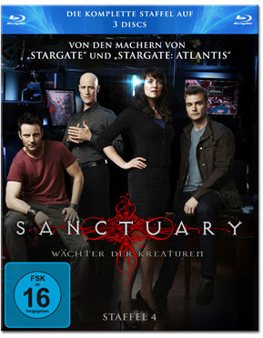 Sanctuary: Wächter der Kreaturen - Staffel 4 Box Blu-ray (3 Discs)