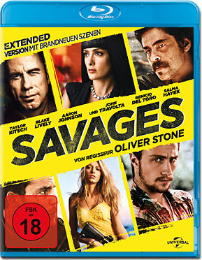 Savages - Extended Version Blu-ray
