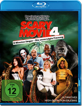 Scary Movie 4 Blu-ray