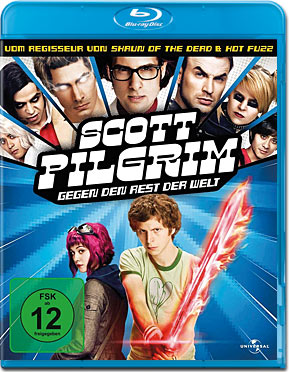 Scott Pilgrim vs. the World Blu-ray