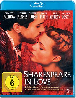 Shakespeare in Love Blu-ray