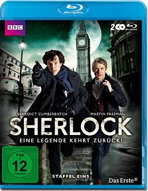 Sherlock: Staffel 1 Box Blu-ray (2 Discs)