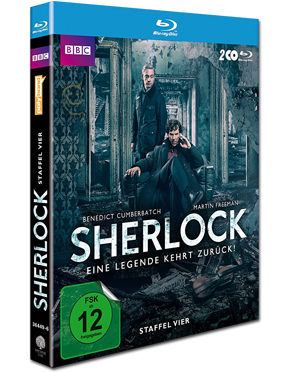 Sherlock: Staffel 4 Box Blu-ray (2 Discs)