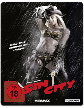 Sin City - Recut Steel Edition Blu-ray (2 Discs)