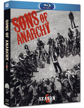 Sons of Anarchy: Season 5 Box Blu-ray (3 Discs)