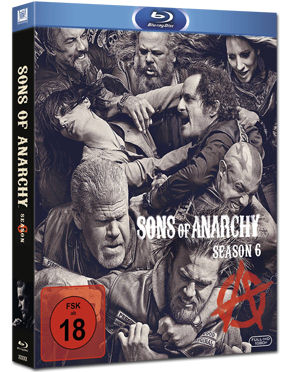 Sons of Anarchy: Season 6 Box Blu-ray (4 Discs)