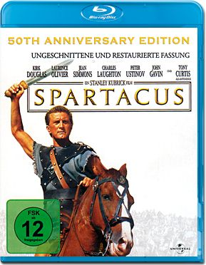 Spartacus - 50th Anniversary Edition (1960) Blu-ray
