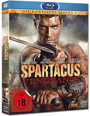 Spartacus: Vengeance - Season 2 Box Blu-ray (4 Discs)