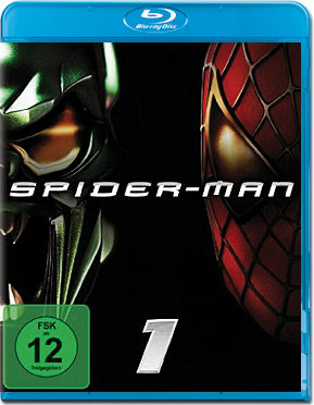 Spider-Man 1 Blu-ray