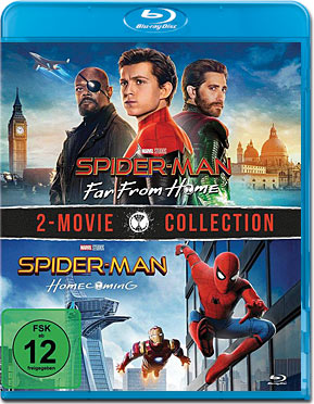 Spider-Man: Far from Home + Homecoming Blu-ray (2 Discs)