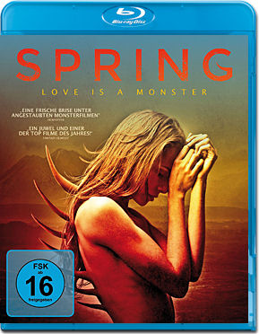 Spring: Love is a Monster Blu-ray