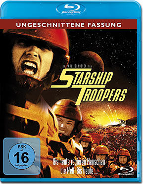 Starship Troopers 1 Blu-ray