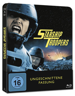 Starship Troopers 1 - Steelbook Edition Blu-ray