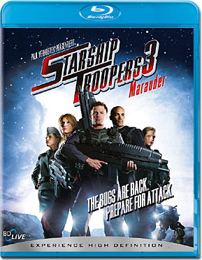 Starship Troopers 3: Marauder Blu-ray