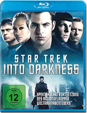 Star Trek Into Darkness Blu-ray