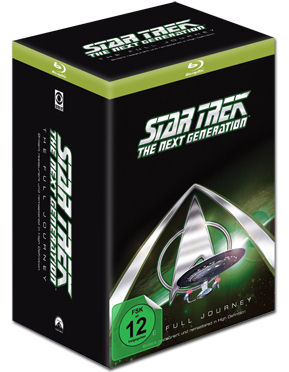 Star Trek The Next Generation - The Full Journey Blu-ray (41 Discs)
