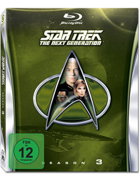 Star Trek The Next Generation: Season 3 Box Blu-ray (6 Discs)