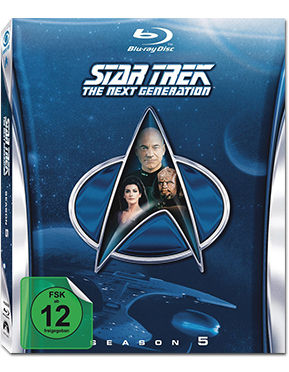 Star Trek The Next Generation: Season 5 Box Blu-ray (6 Discs)