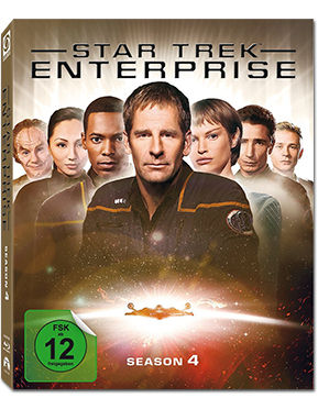 Star Trek Enterprise: Season 4 Box Blu-ray (6 Discs)