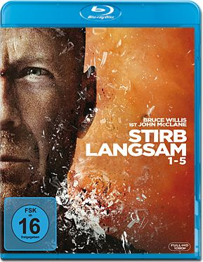 Stirb Langsam 1-5 Box Blu-ray (5 Discs)
