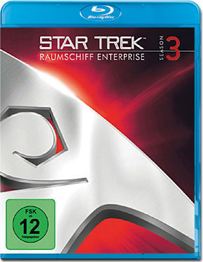 Star Trek Raumschiff Enterprise: Season 3 Box Blu-ray (6 Discs)