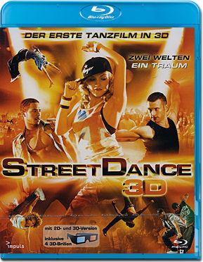 Street dance 3d blu ray